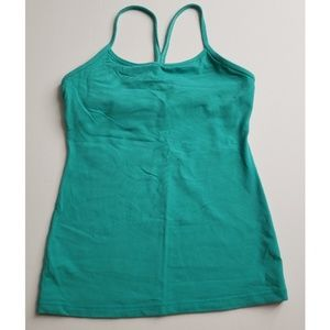 Lululemon Flow Y Tank Turquoise Fitness top 6